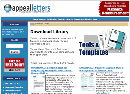 Appeal Letters Online