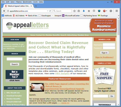 home appeal solutions inc - Medical Appeal Letters